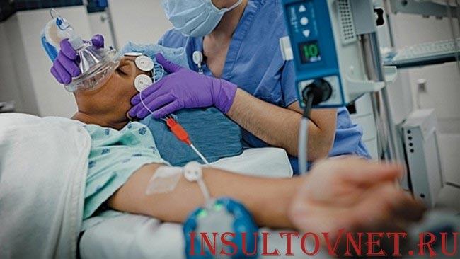 Реанимация при инсульте