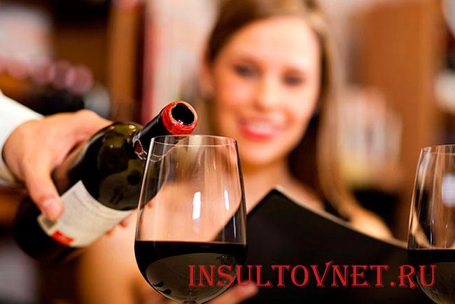 Можно ли после инсульта употреблять спиртное