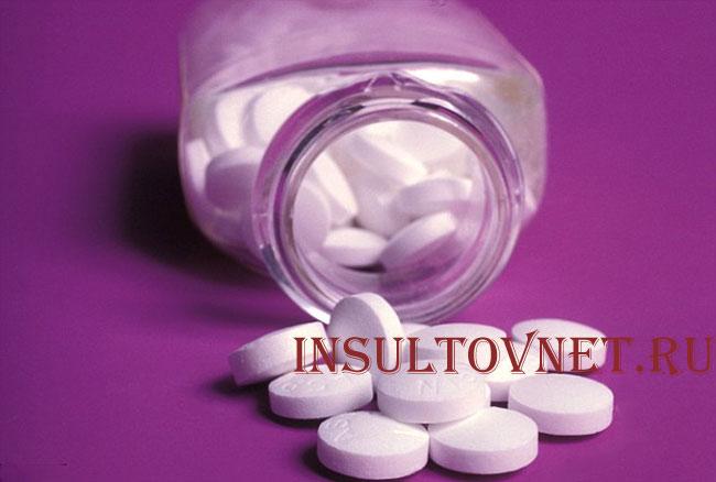 Аспирин для профилактики инсульта