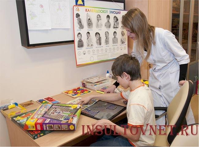 Лечение детского инсульта