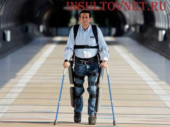 парализованный ходит