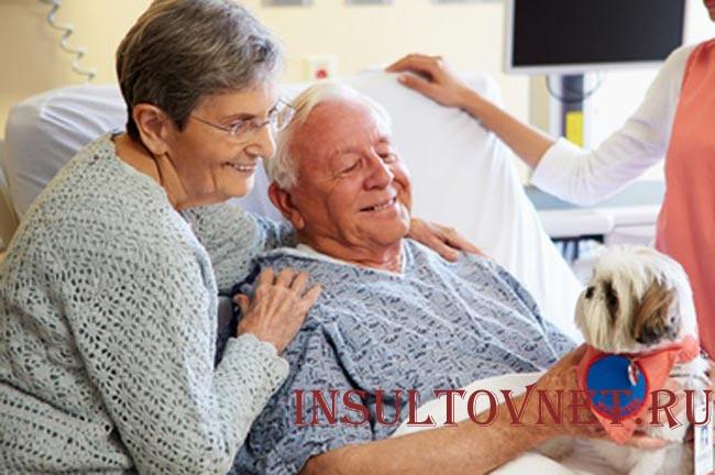 пациент перенесший инсульт