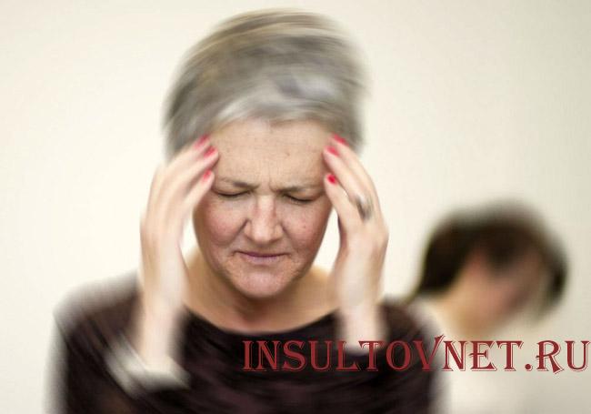 Признаки правостороннего инсульта