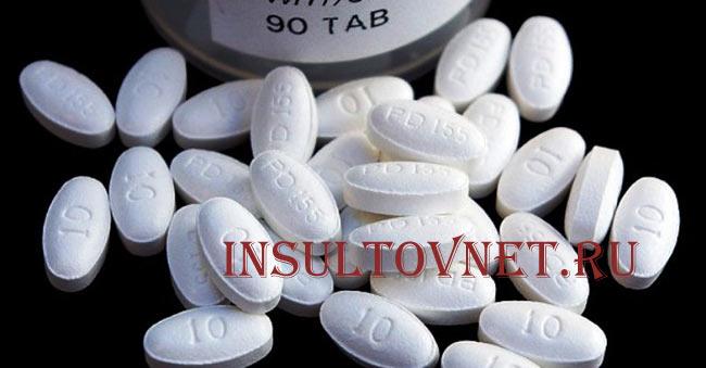 Статины при инсульте