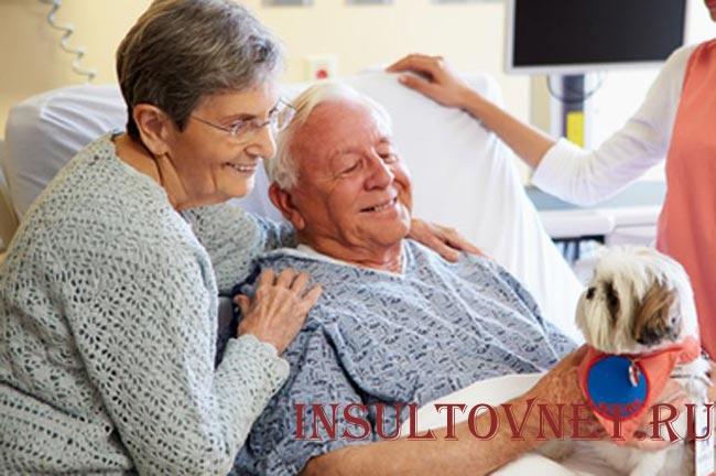 Уход за больным инсультом