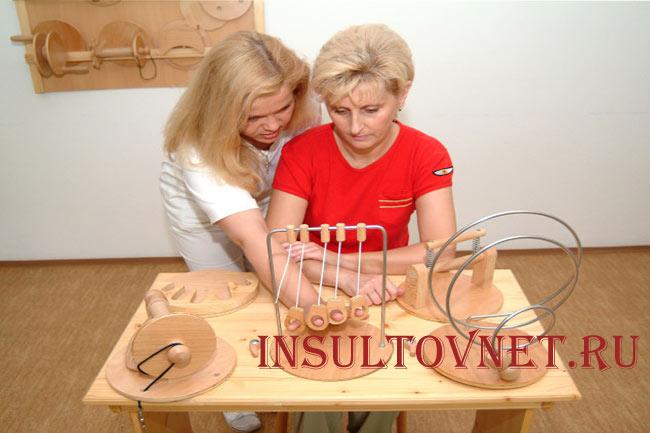 Эрготерапия и инсульт