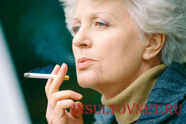 Курение как риск инсульта