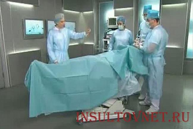 Операция после инсульта