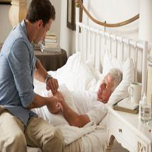 Пациент после инсульта