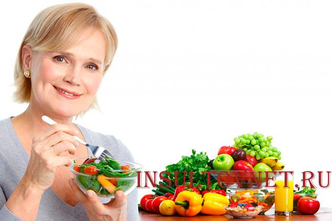 Правильное питание после инсульта