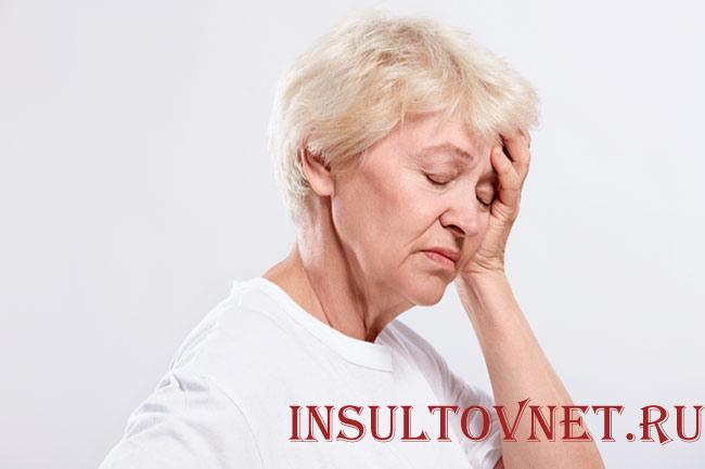 Рвота после инсульта