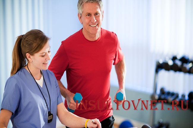 Скорость реабилитации после инсульта