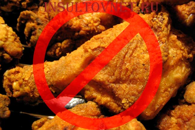 Жирная и калорийная пища