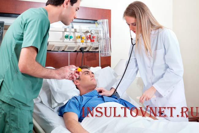 Быстрая помощь при инсульте