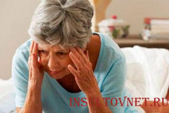 Инсульт среди пожилых