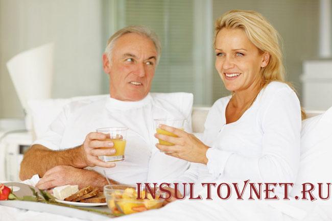 Питание при инсульте