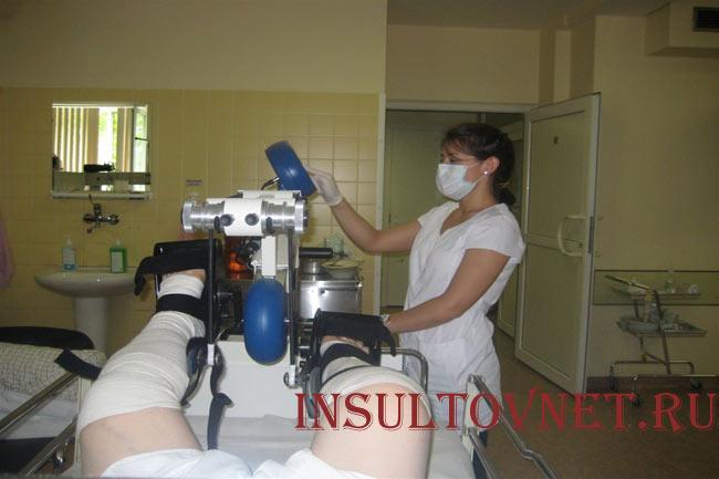 Ранняя реабилитация после инсульта