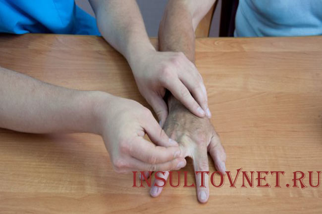 Разогревающий массаж рук