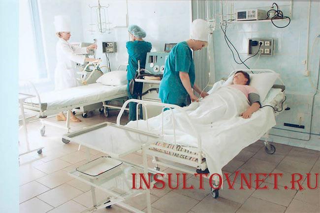 Реанимация при геморрагическом инсульте