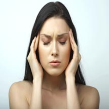 Массаж при мигрени
