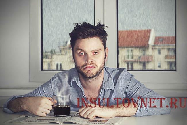 Мигрень после алкоголя