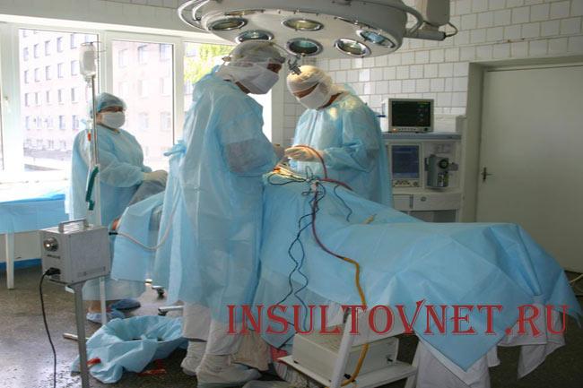 Операция при онкологии мозга