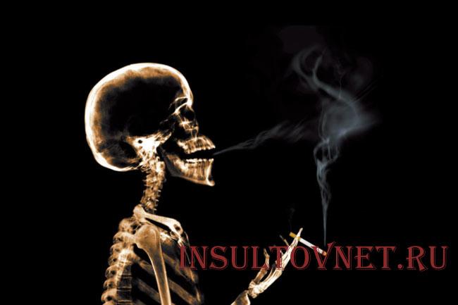 Влияние сигарет на мозг человека