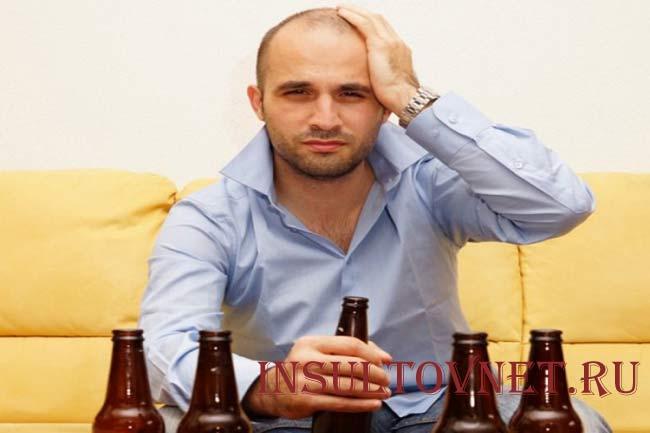 Боль в голове после алкоголя