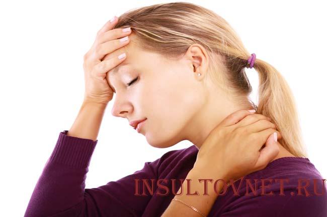 Боль в виске при остеохондрозе