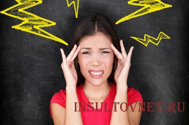 Болит затылок после стресса