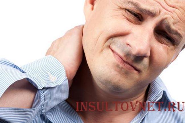 Гипертония болит затылок