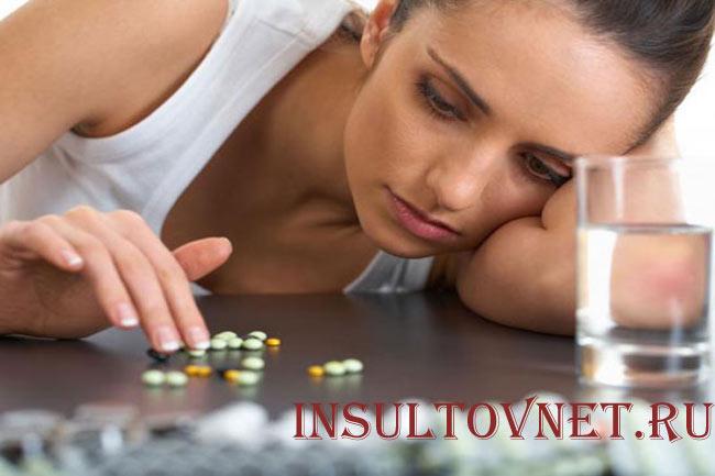 Головная боль после таблеток