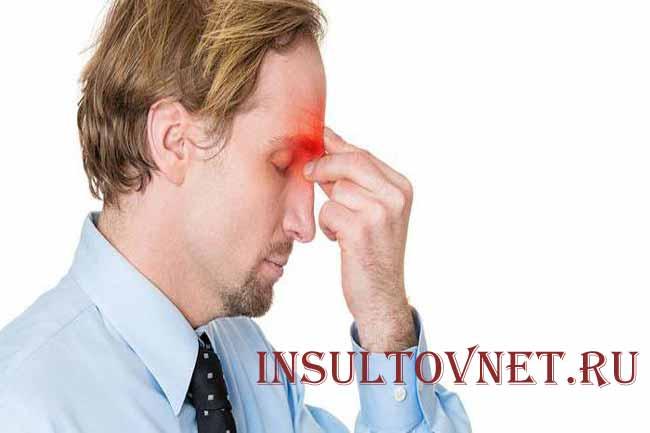 Боль в голове при гайморите