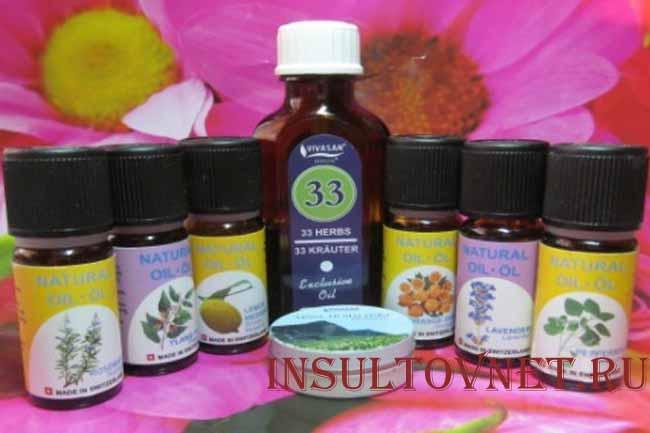 Эфирные масла при головной боли
