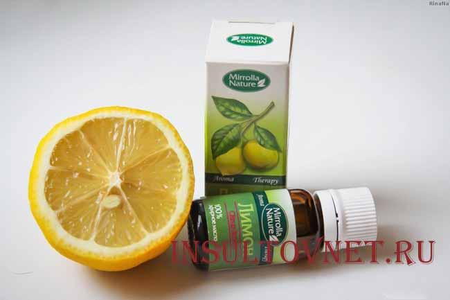 Лимонное масло от головной боли