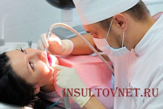 Помощь стоматолога