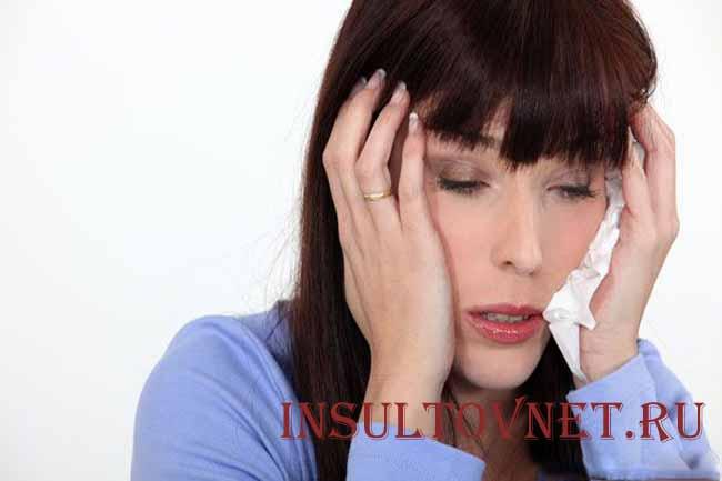 Тошнота при мигрени