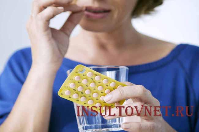 Влияние контрацептивов