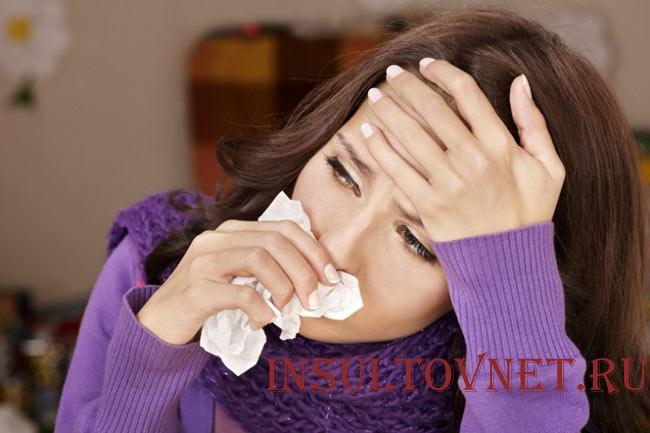 Аллергия и головная боль