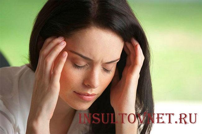 Кружиться голова после стресса