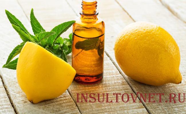 Лимонное масло при головной боли