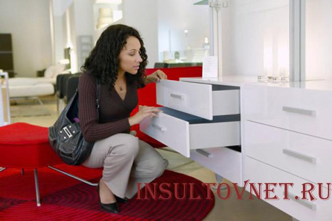 Необходимо правильно выбирать мебель