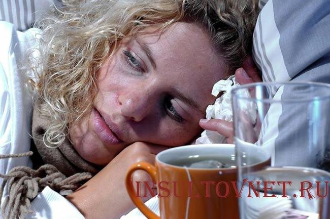 Осложнения после насморка