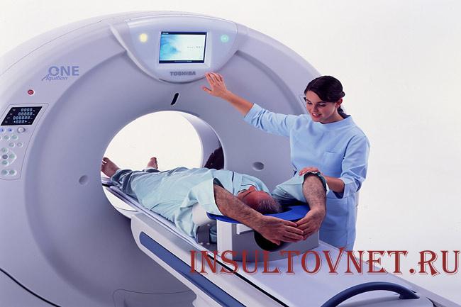Рентгеновское сканирование головного мозга