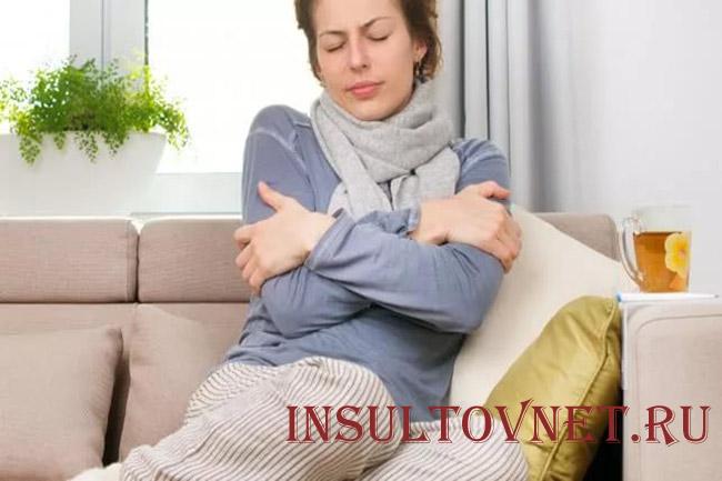 Тошнит и болит голова при гриппе