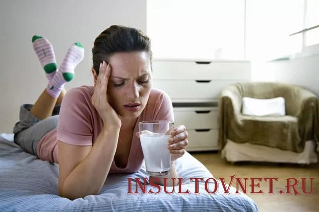 Тошнит при мигрени
