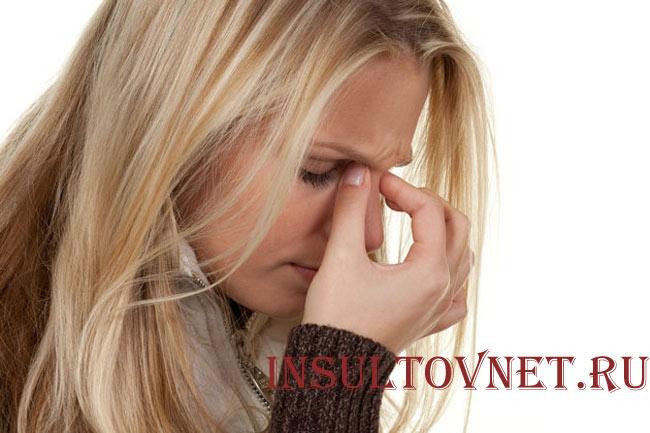 Головная боль при синусите