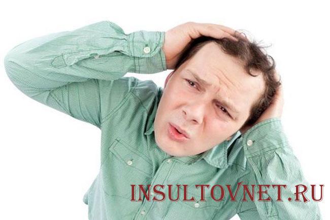 Острая боль в затылке после стресса
