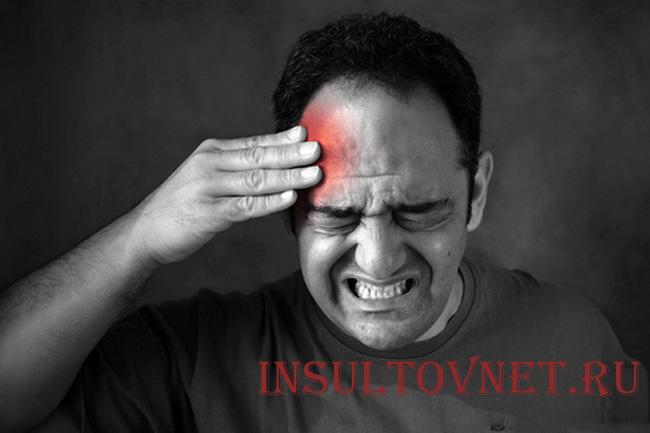 Правосторонняя стреляющая боль в голове